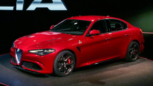 Alfa Romeo Giulia 2015 HD Background