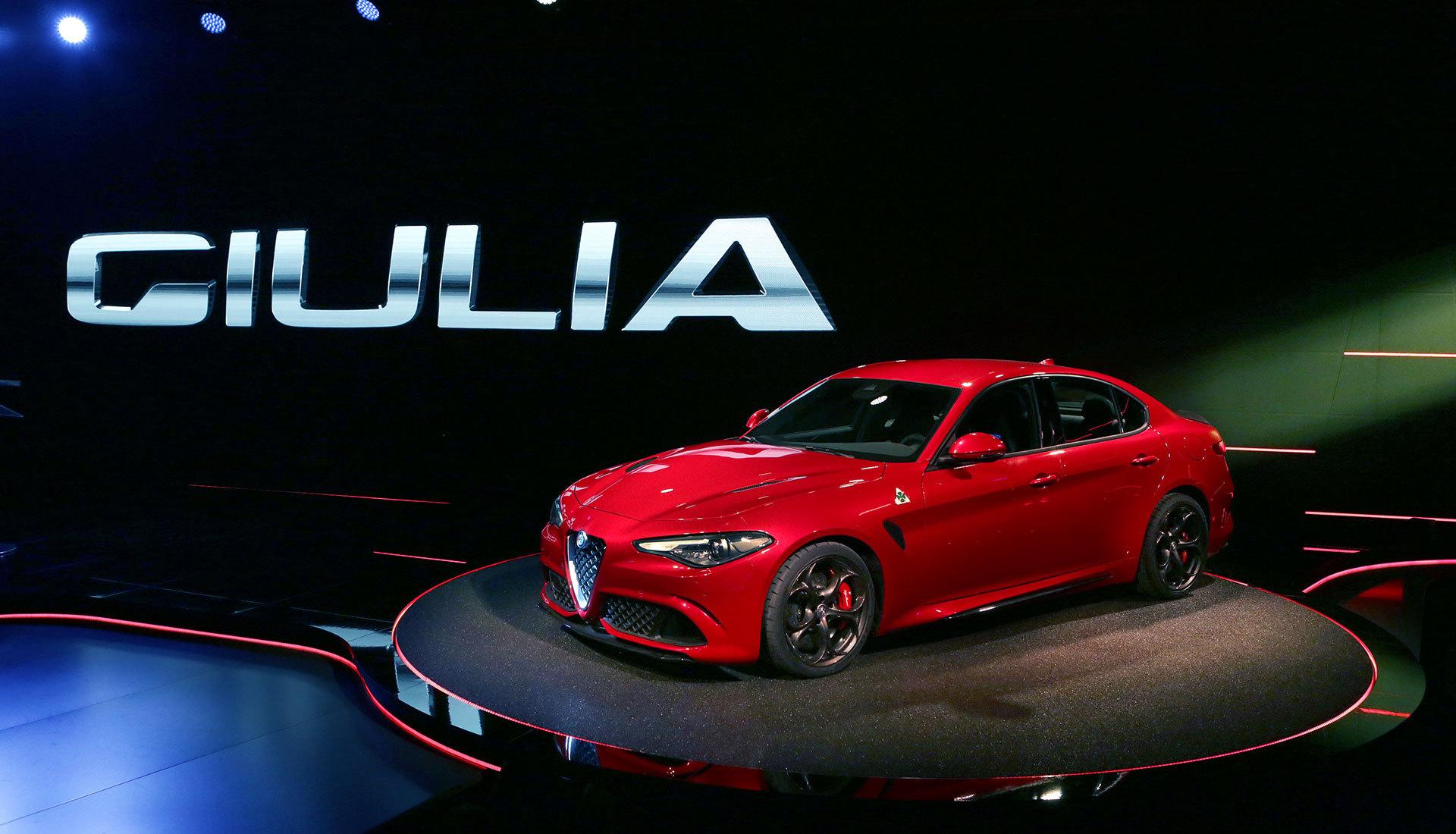 Alfa Romeo Giulia 2015 High Definition Wallpapers