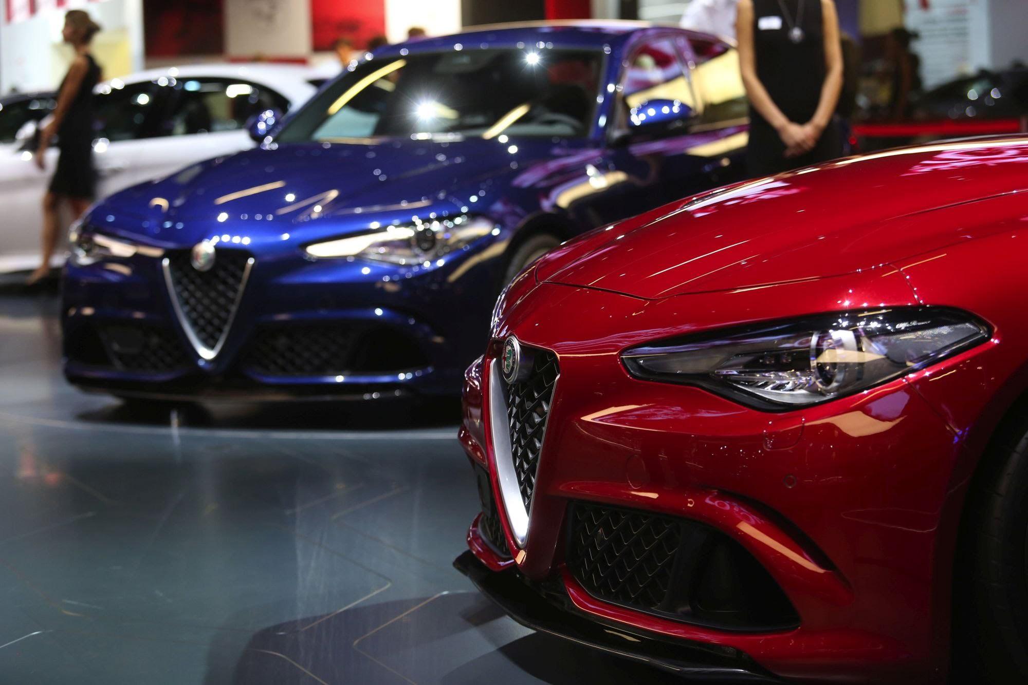 Alfa Romeo Giulia 2015 Wallpaper