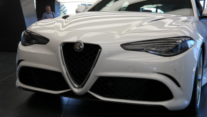 Alfa Romeo Giulia 2015 Wallpapers HD