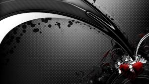 Black Abstract Desktop