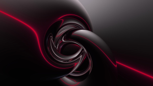 Black Abstract HD Desktop