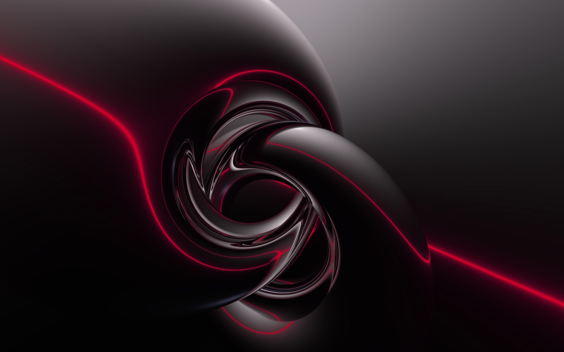 Black Abstract HD Desktop