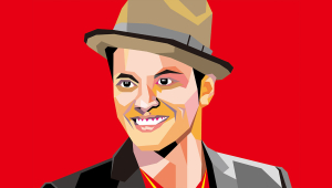 Bruno Mars Pop Art