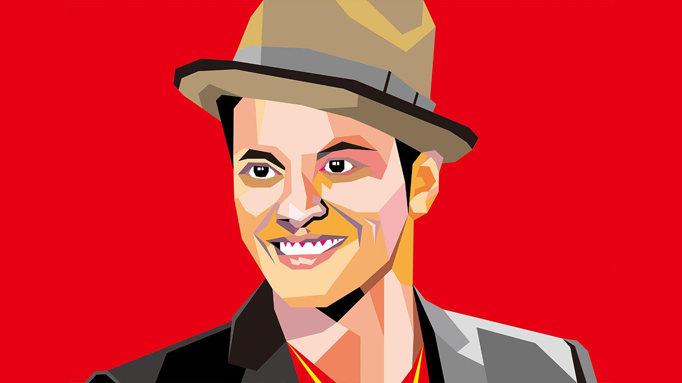 Bruno Mars Pop Art