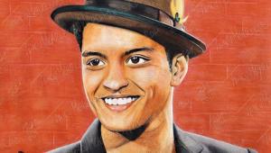Bruno Mars Art Wallpaper