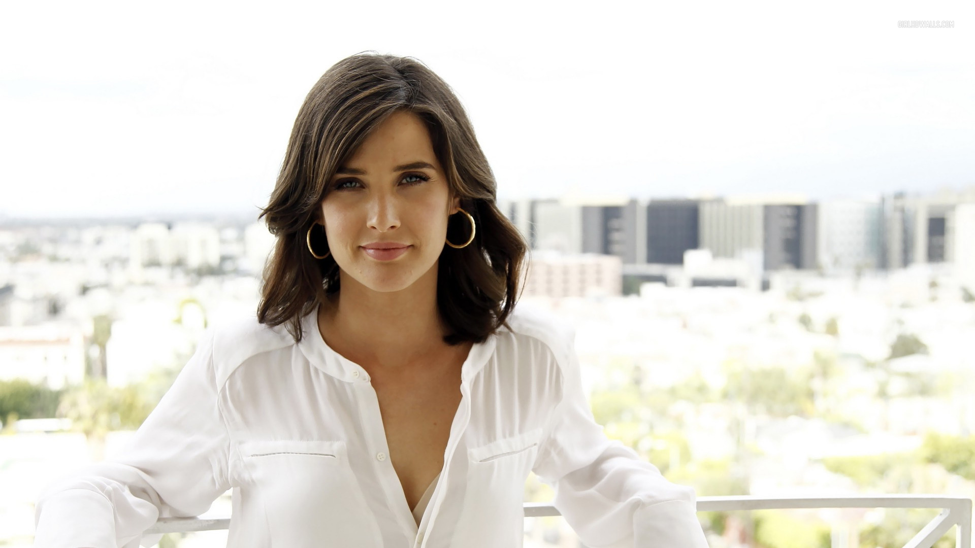 Cobie Smulders HD Wallpaper