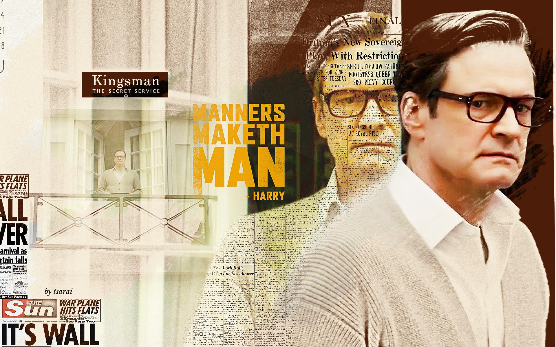Colin Firth 4K