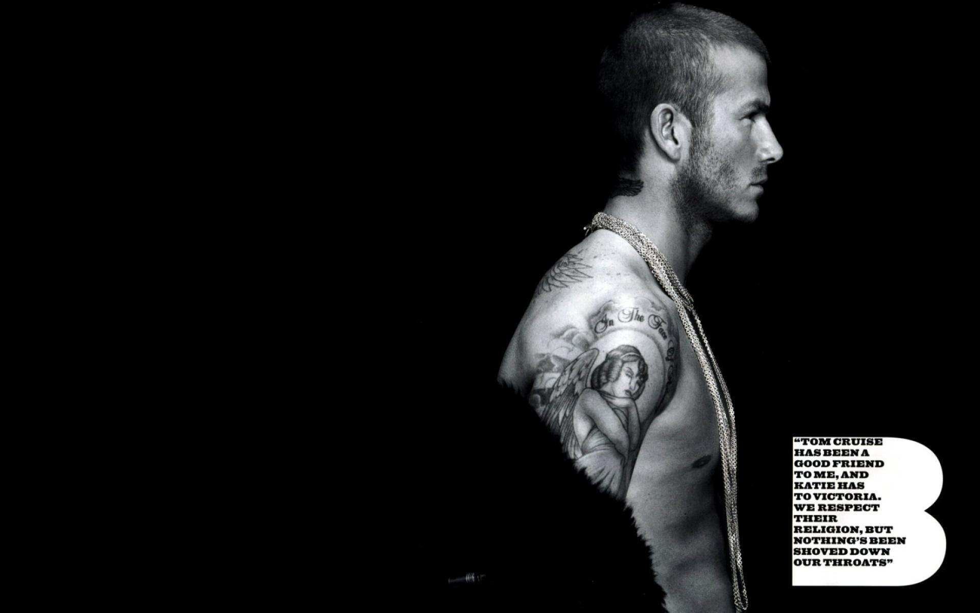David Beckham HD Background
