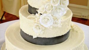 Glamorous Wedding Cake