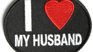 I Love My Husband Patch