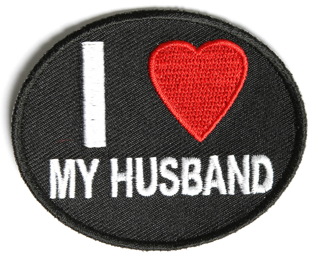 I Love My Husband Patch
