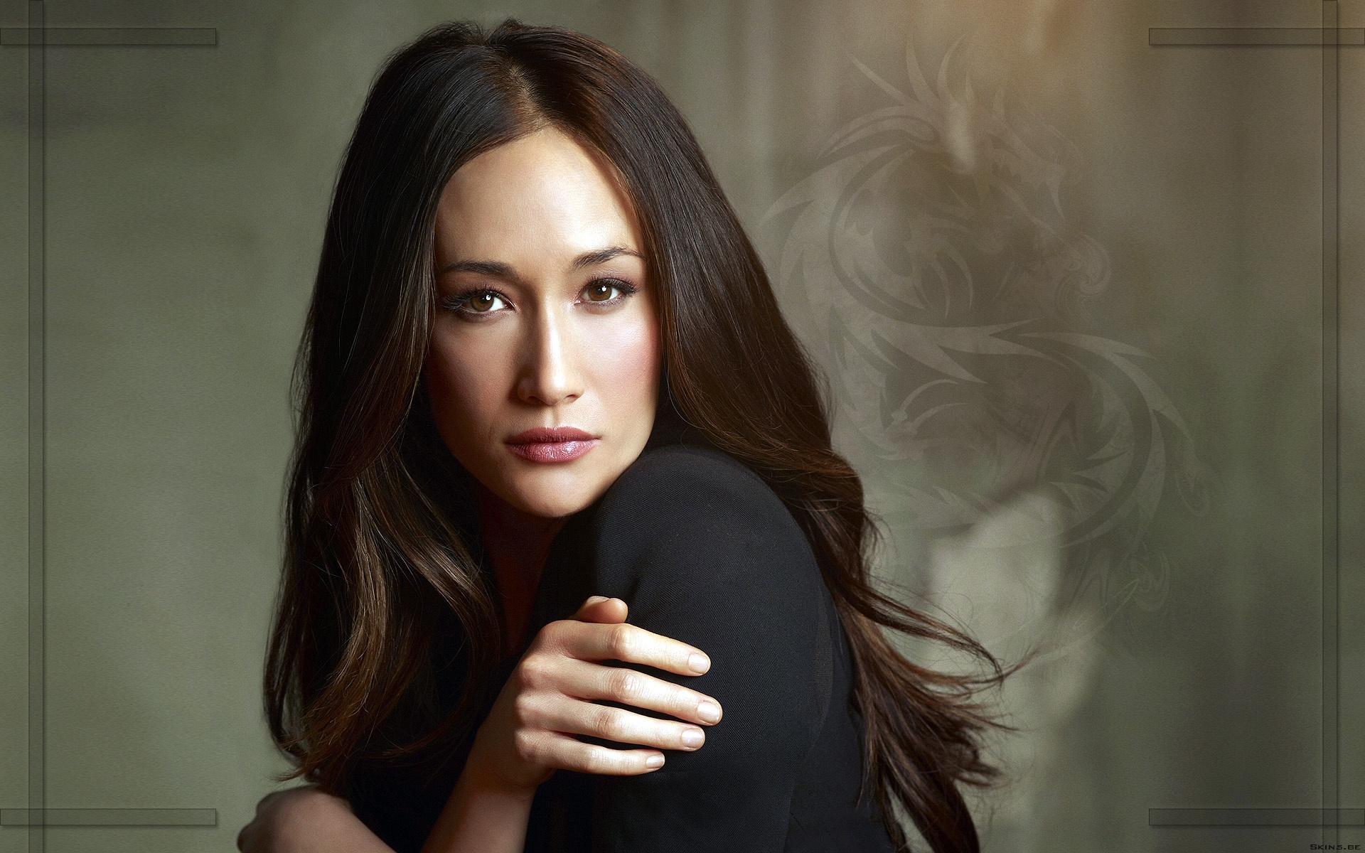 Maggie Q HD Wallpaper