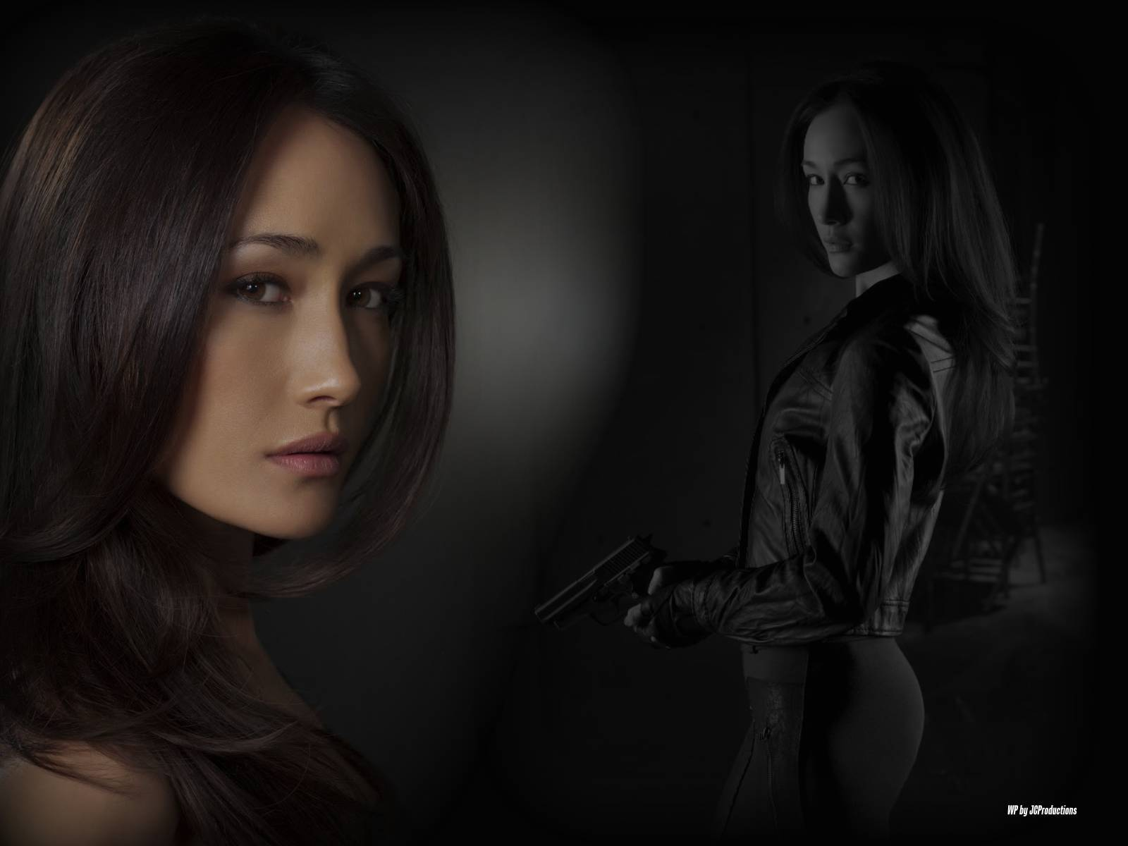 Maggie Q HD