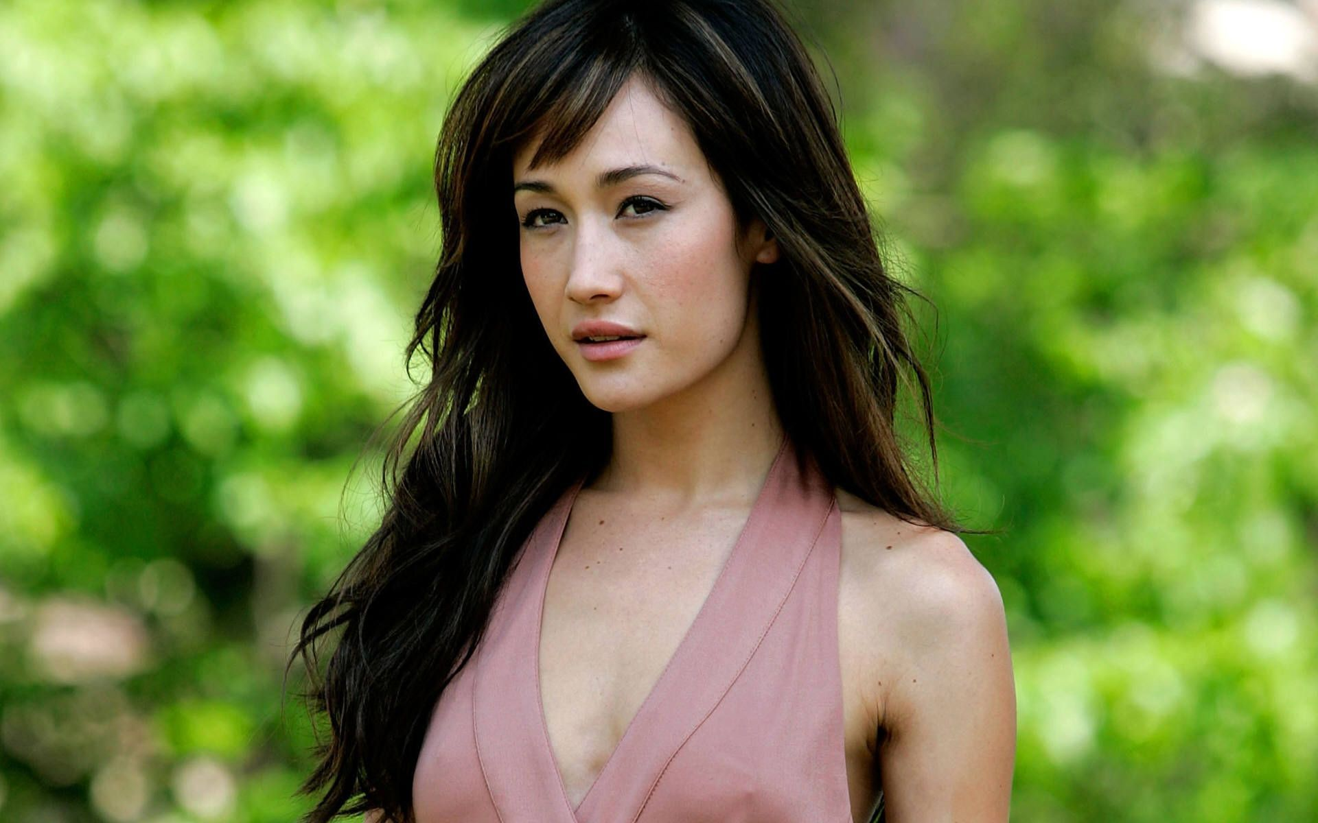 Maggie Q High Quality Wallpapers