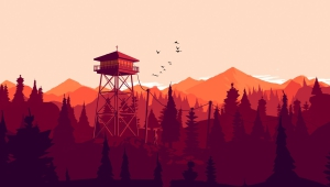 Pictures Of Firewatch