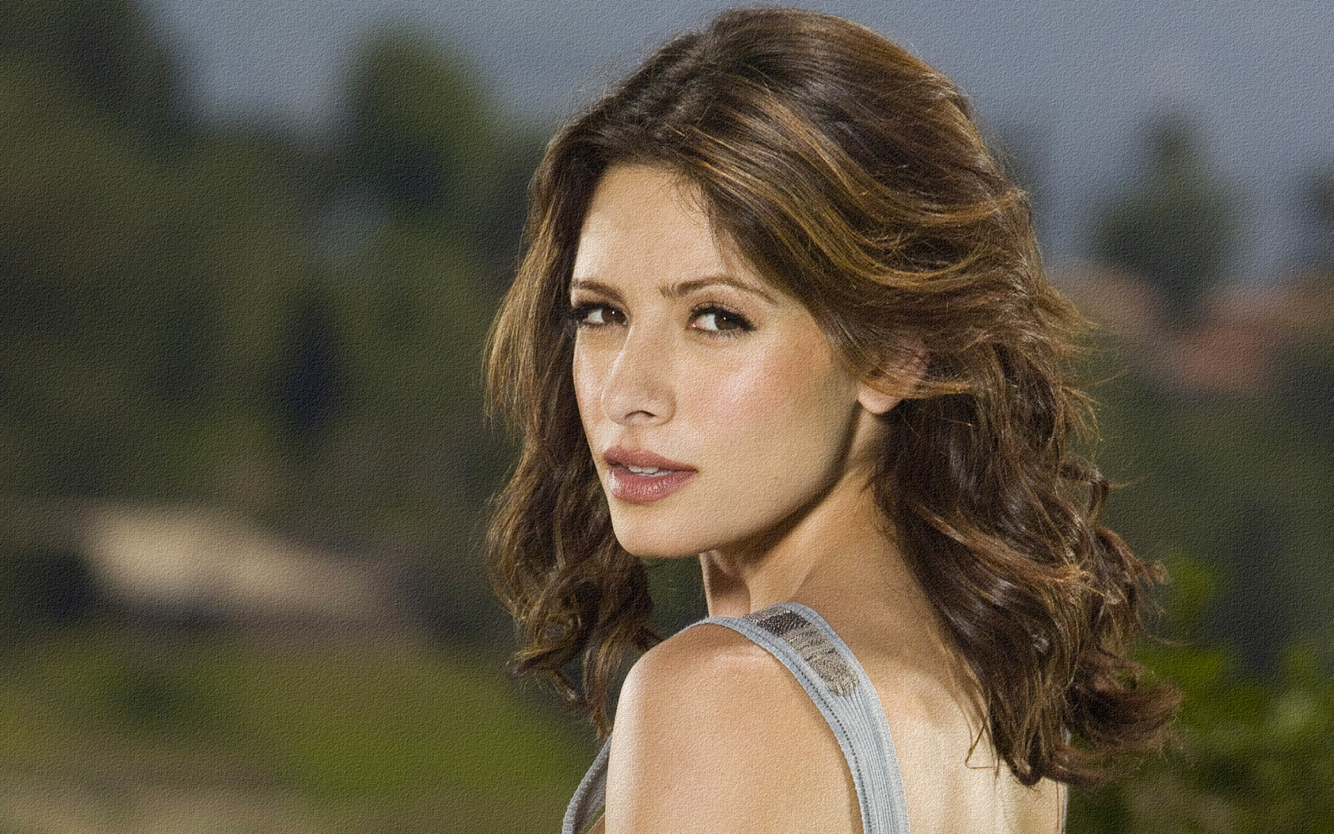 Sarah Shahi HD Wallpaper