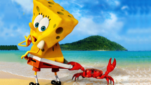 Spongebob And Crab 1920x1080