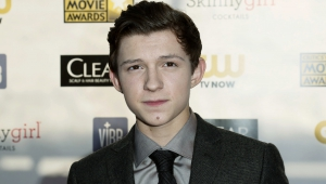 "Actor Tom Holland From ""The Impossible"" Arrives At The 2013 Critic's Choice Awards In Santa Monica"