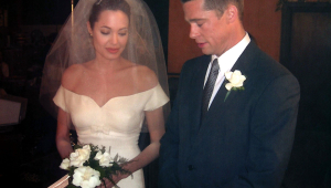 Angelina Jolie Wedding Pictures
