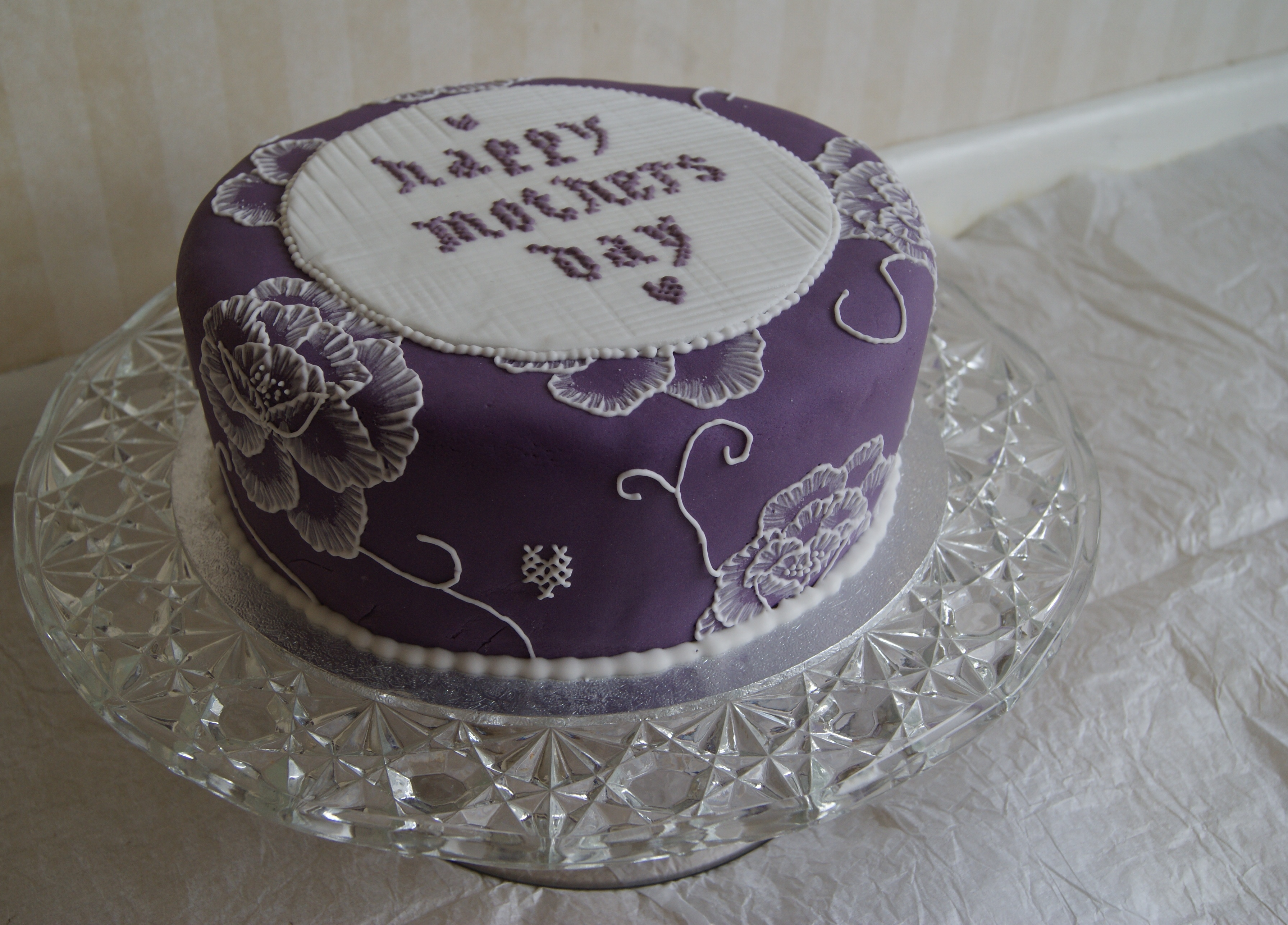 Happy Mother's Day Cake Stencils