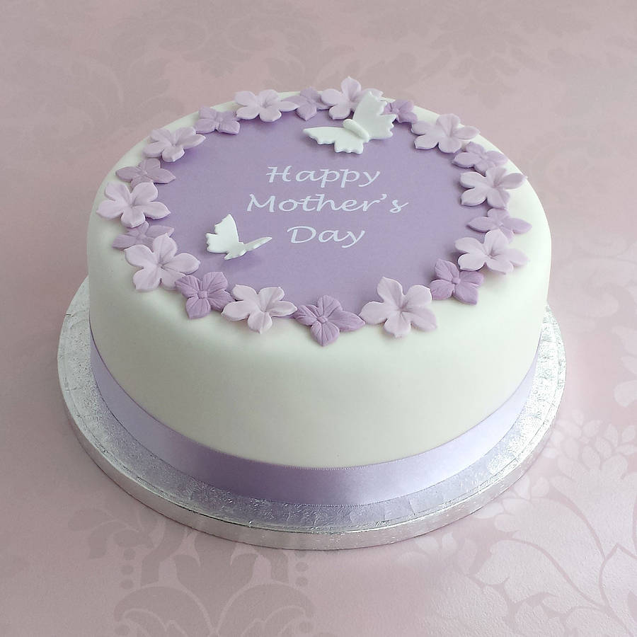 Original Personalised Mothers Day Cake Decorating Kit