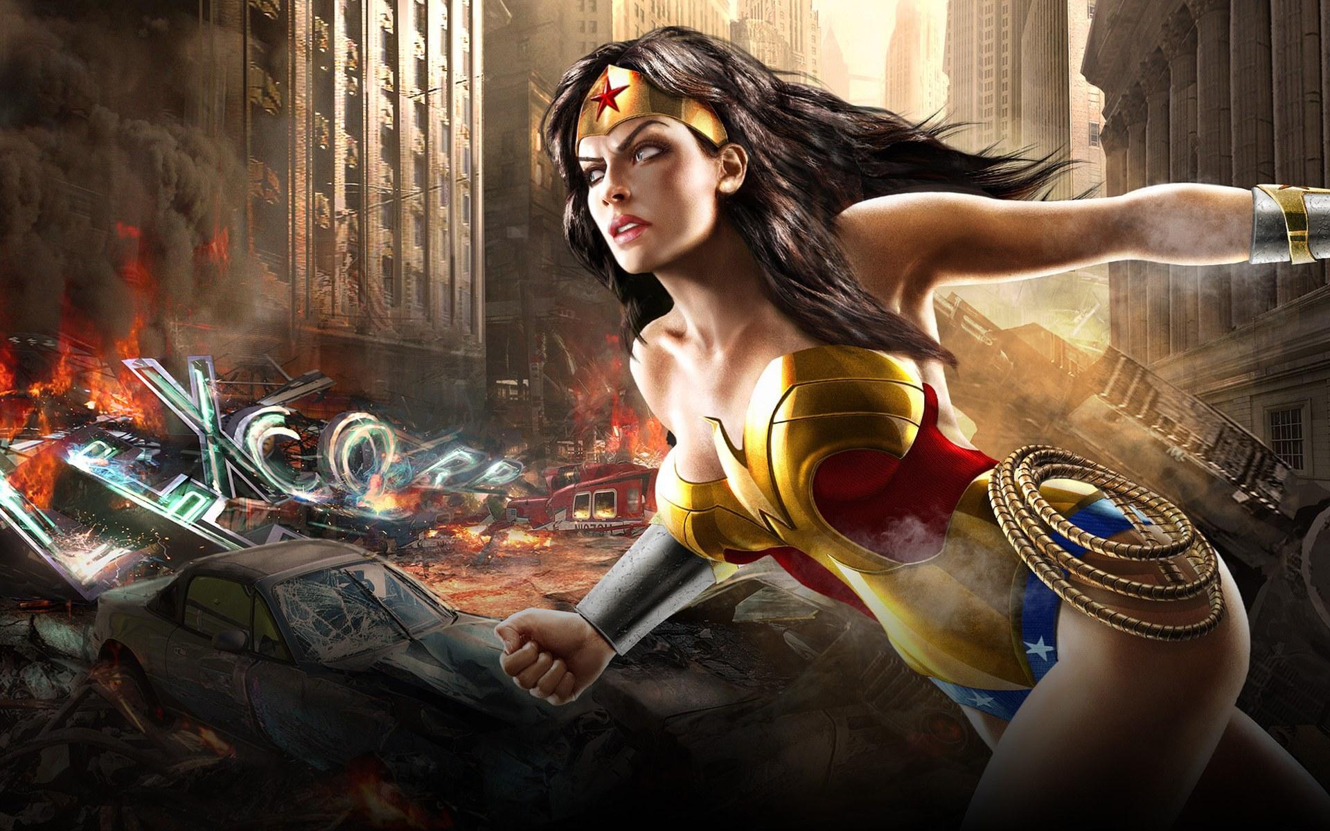 Wonder Woman Free Wallpaper