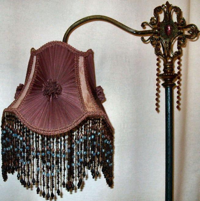 Antique Victorian Floor Lamps