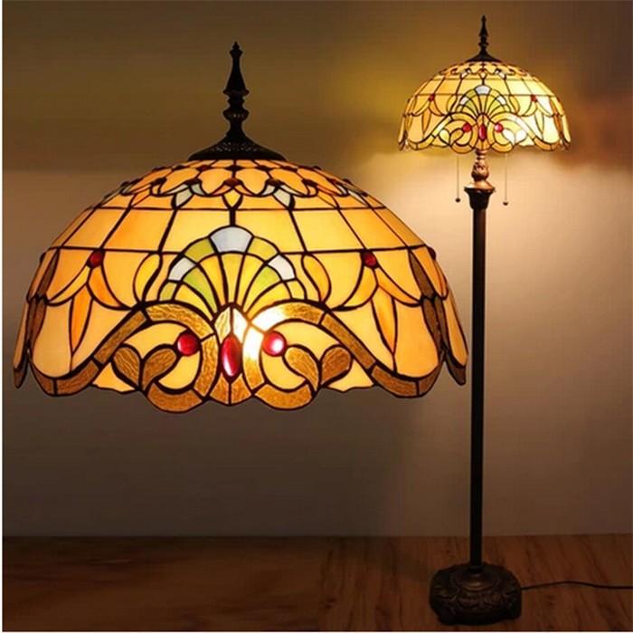 Art Glass Floor Lamps
