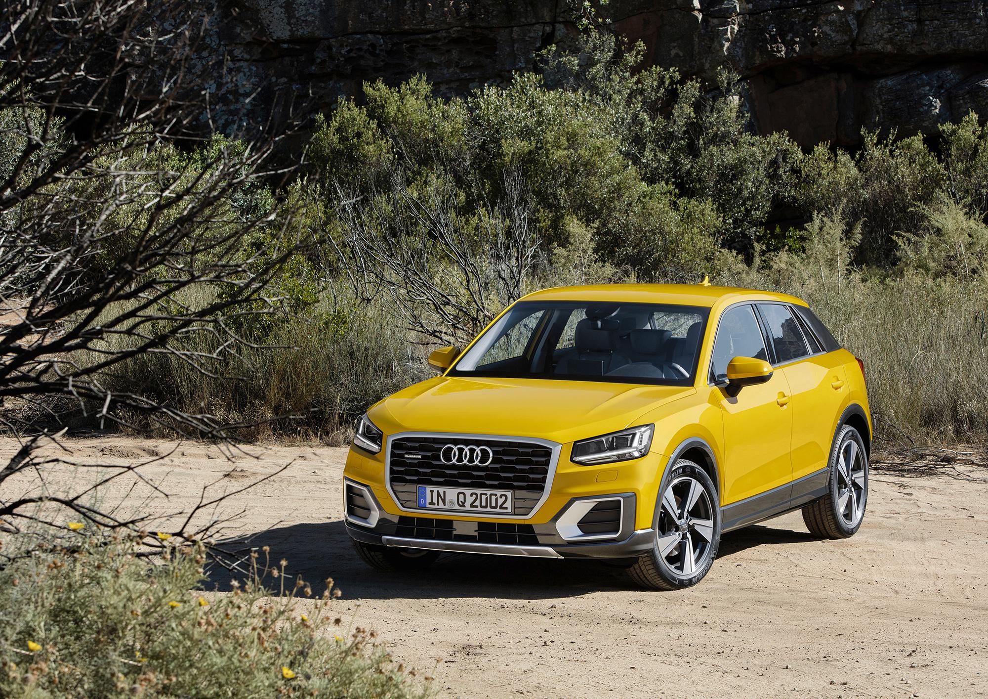Audi Q2 Photos