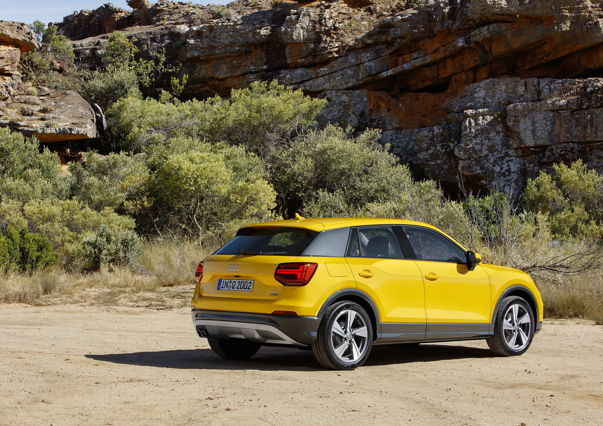 Audi Q2 Pictures