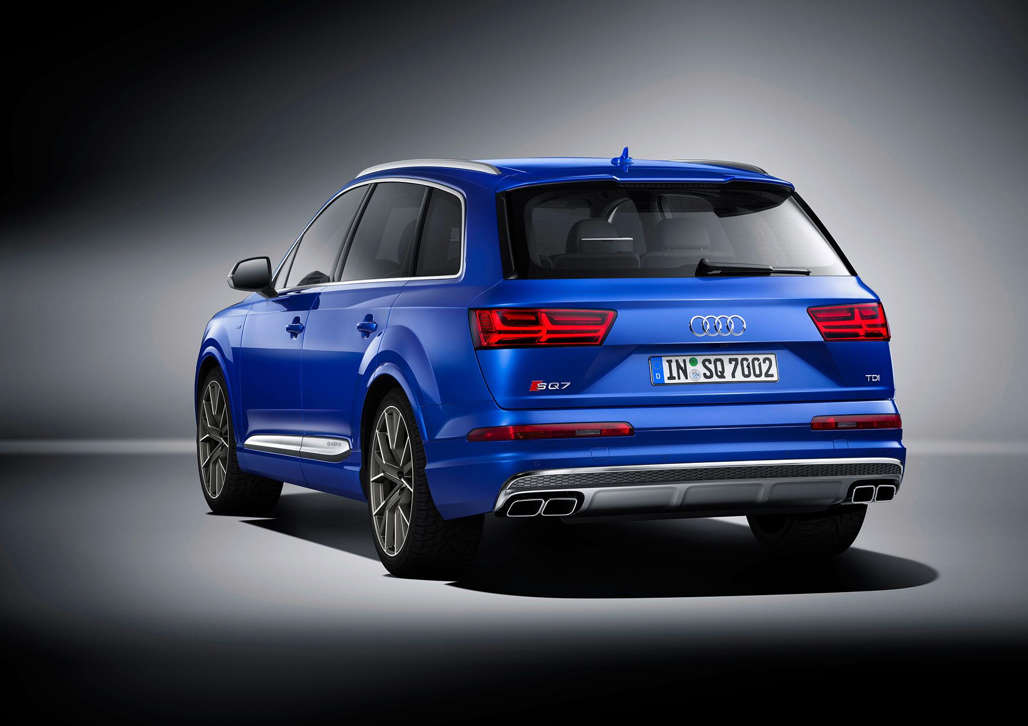 Audi SQ7 Images