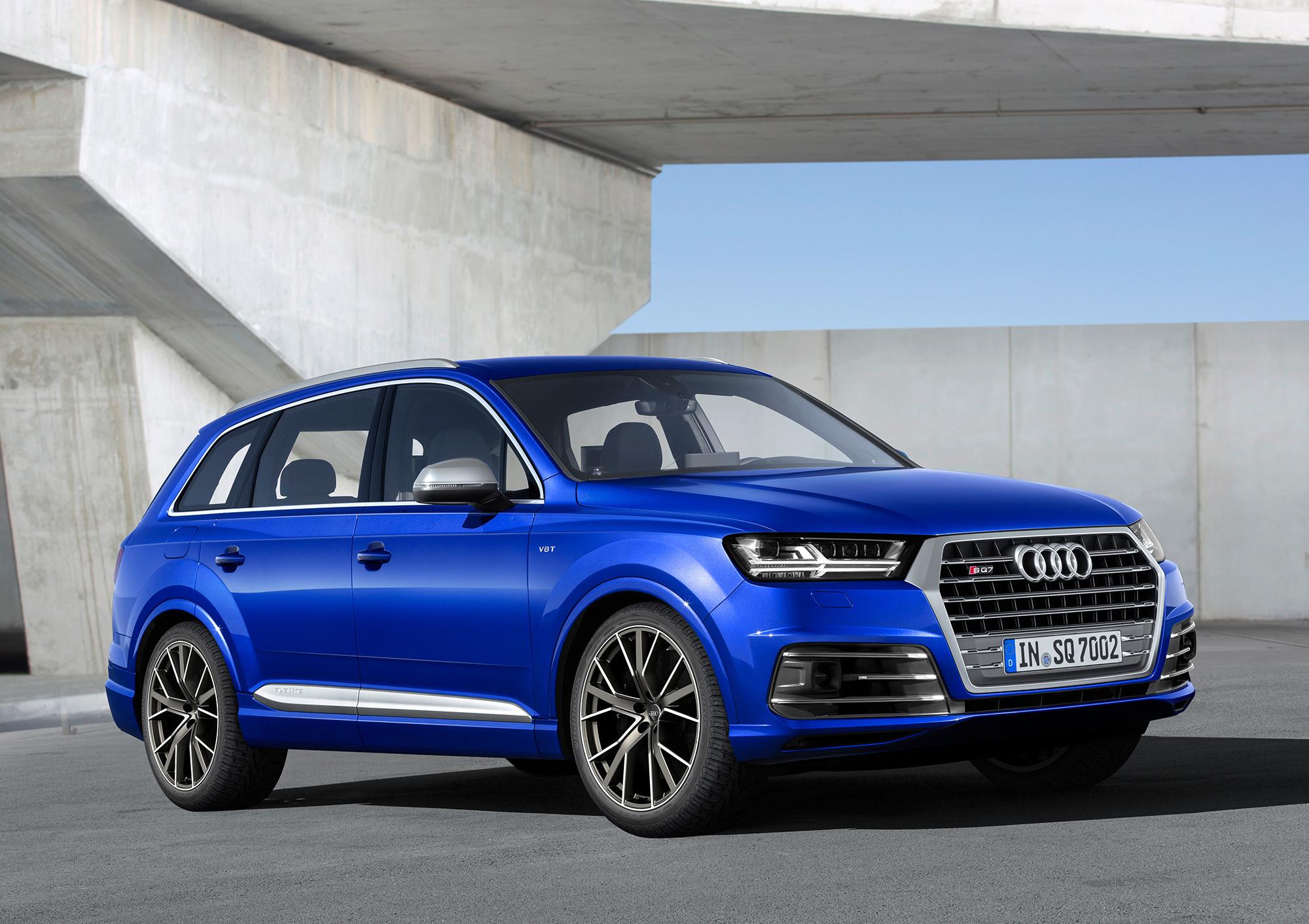 Audi SQ7 Wallpaper