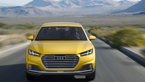 Audi TTQ HD Wallpaper