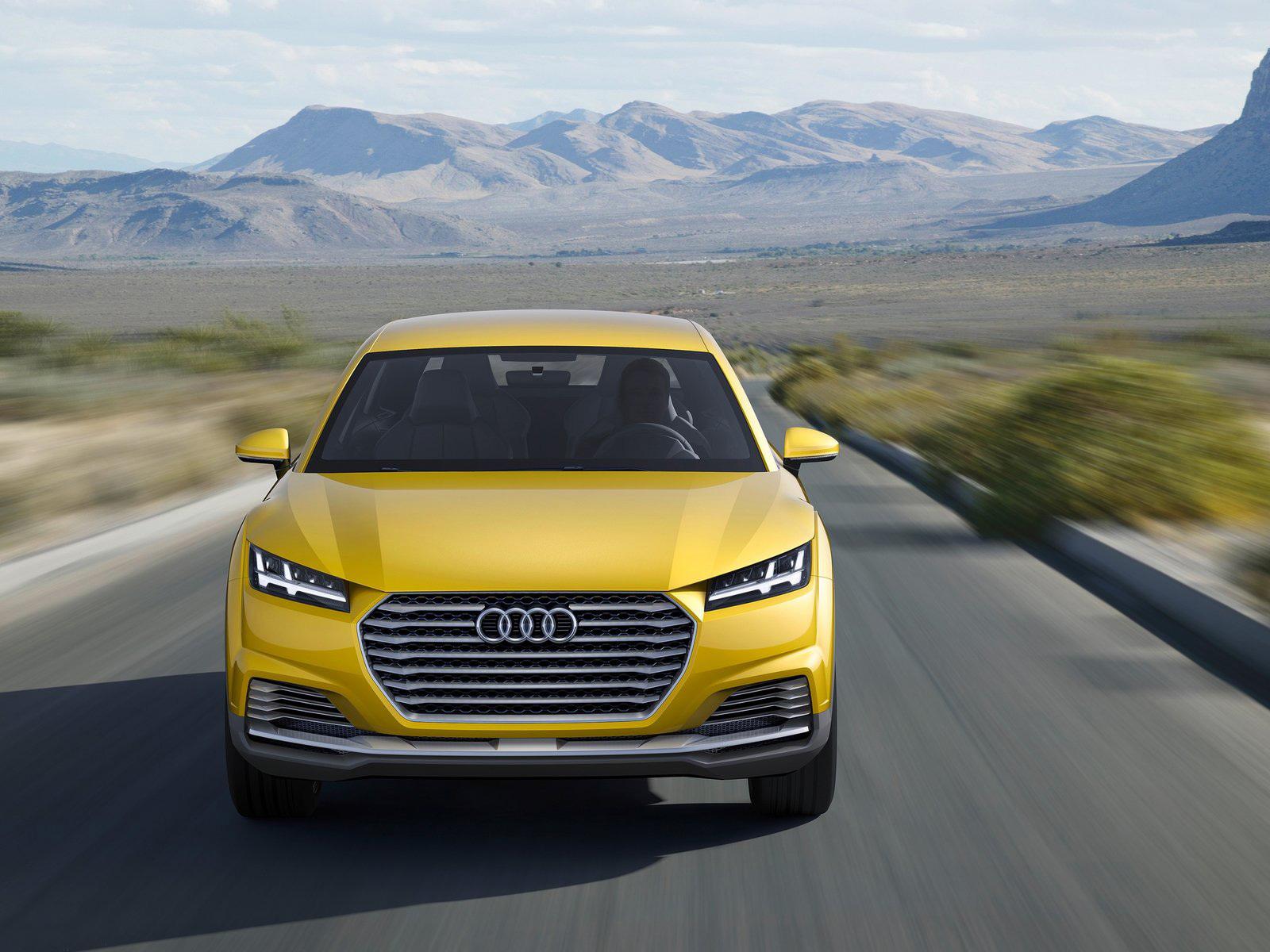 Audi TTQ HD Wallpaper