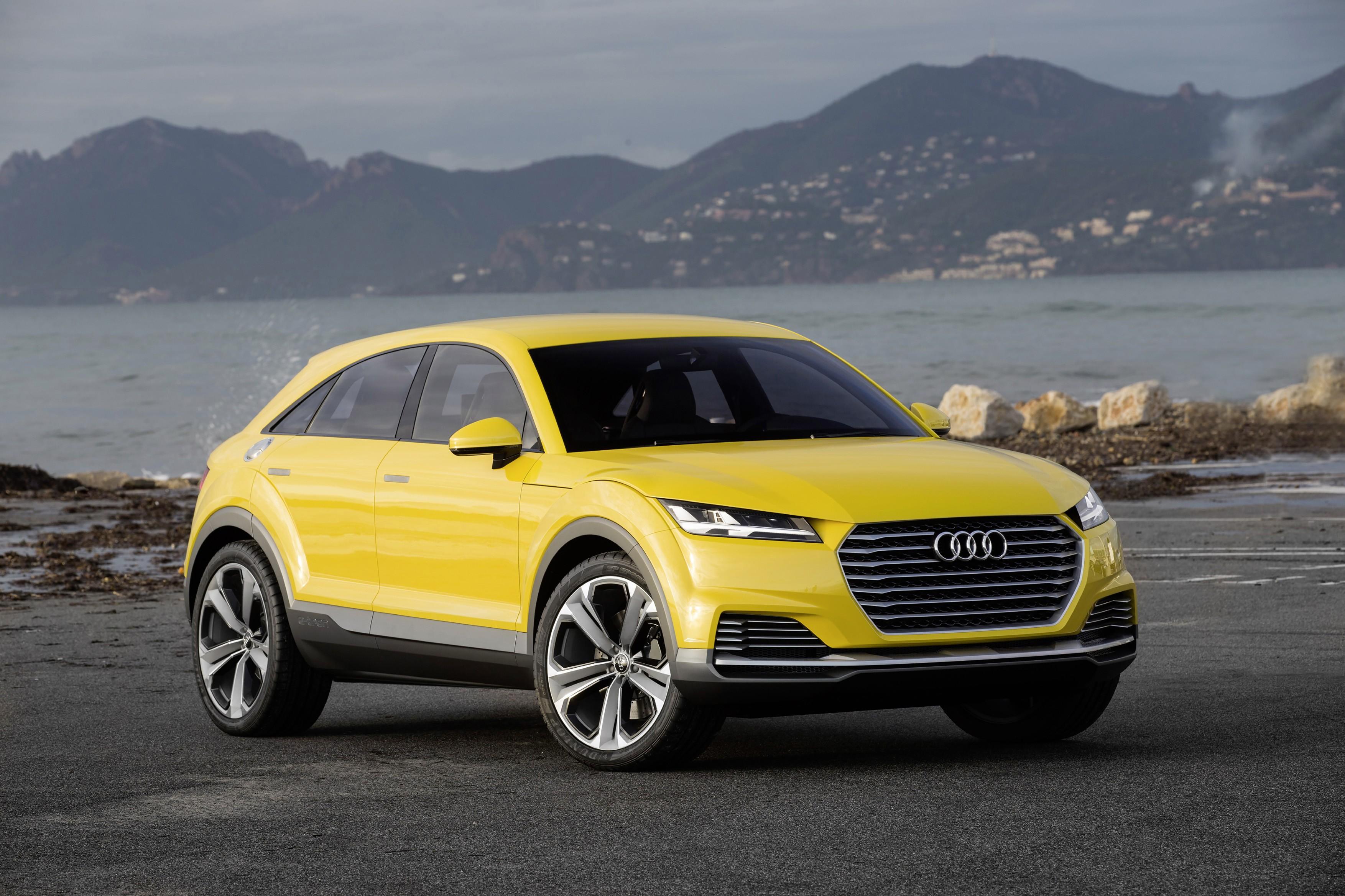Audi TTQ Photos