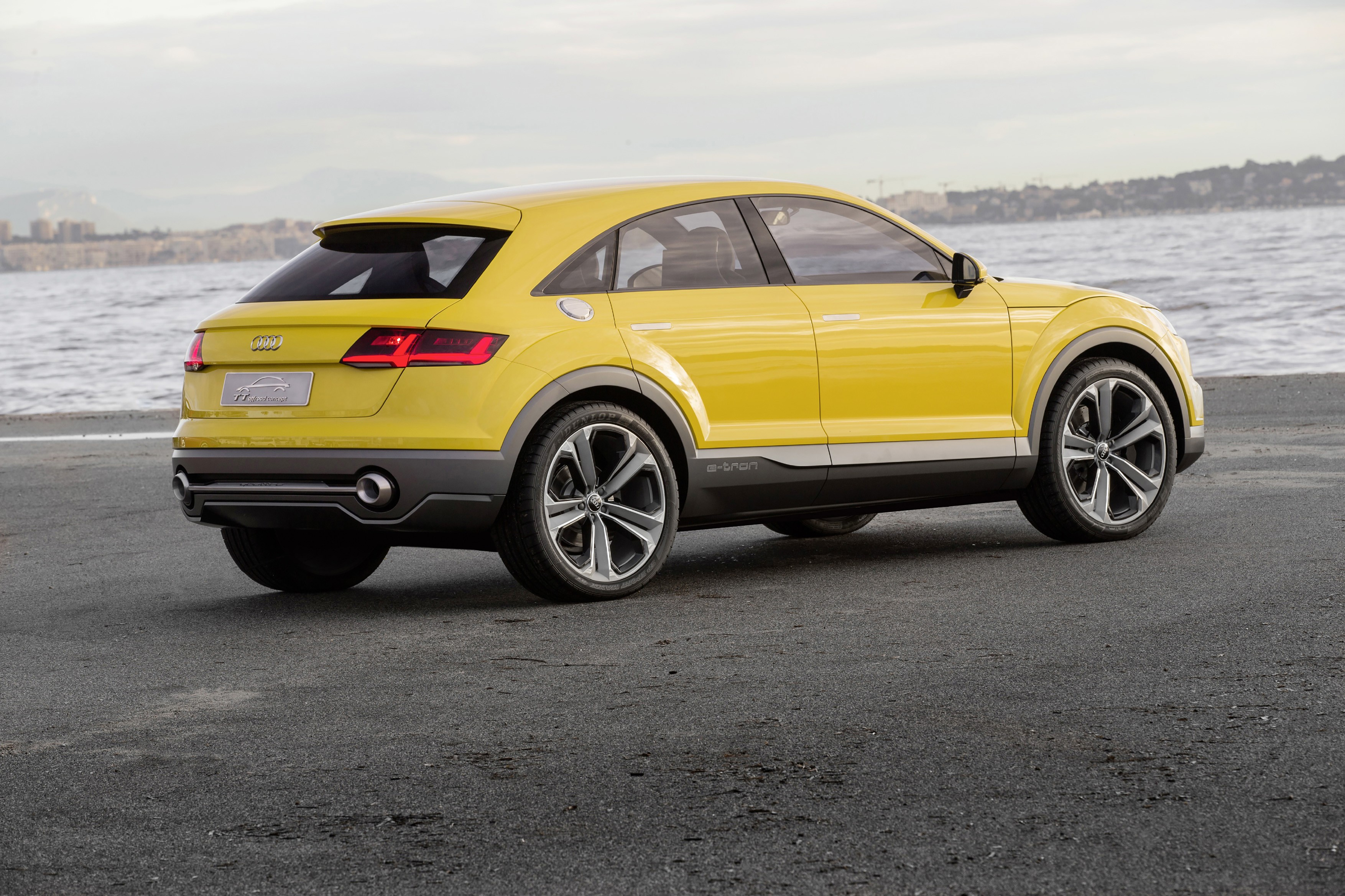Audi TTQ Wallpaper