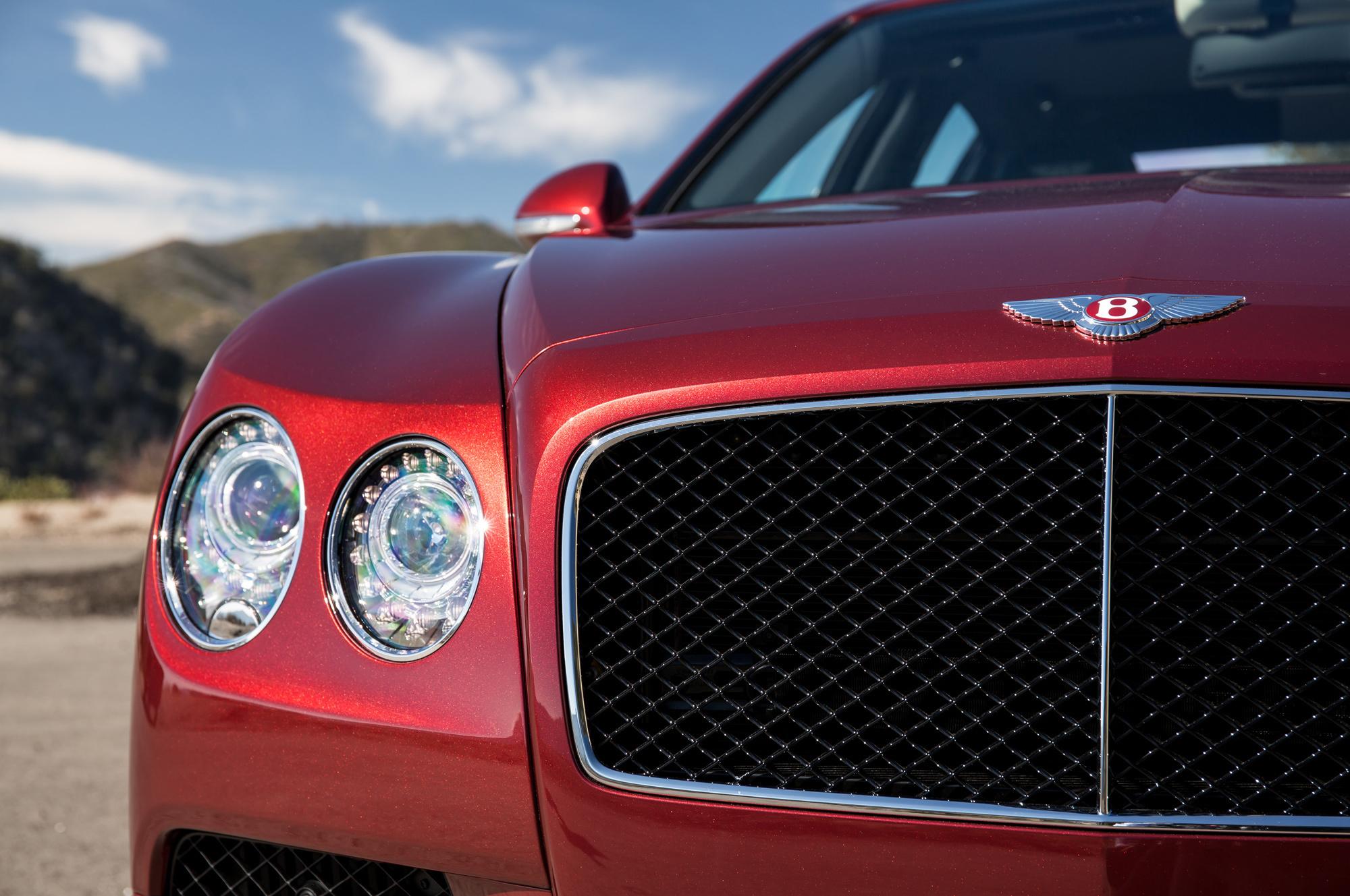 Bentley Flying Spur V8 S Pictures
