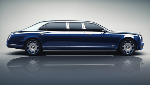 Bentley Mulsanne Grand Limousine Images