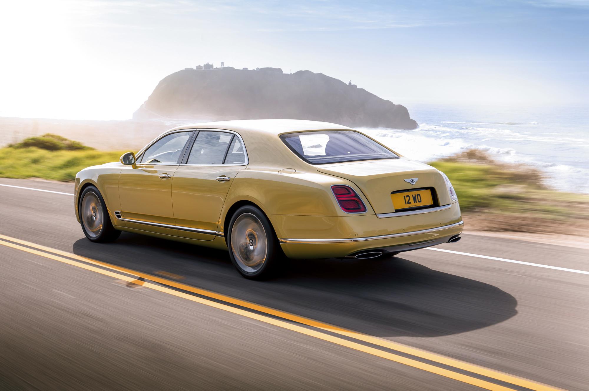 Bentley Mulsanne HD Background
