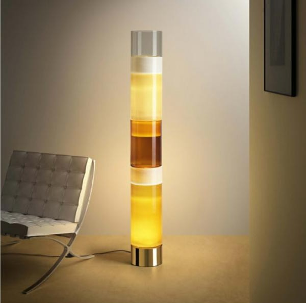 Blown Glass Floor Lamps