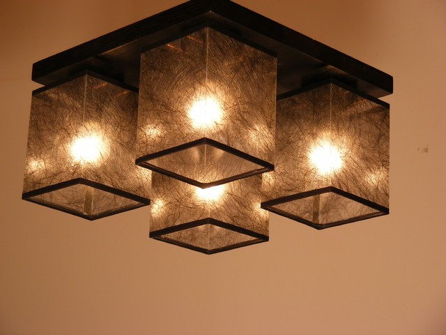 Brown Lampshades