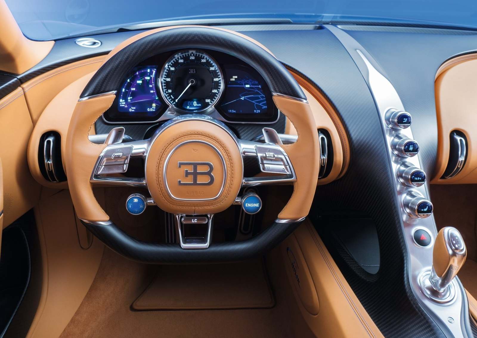 Bugatti Chiron For Desktop Background