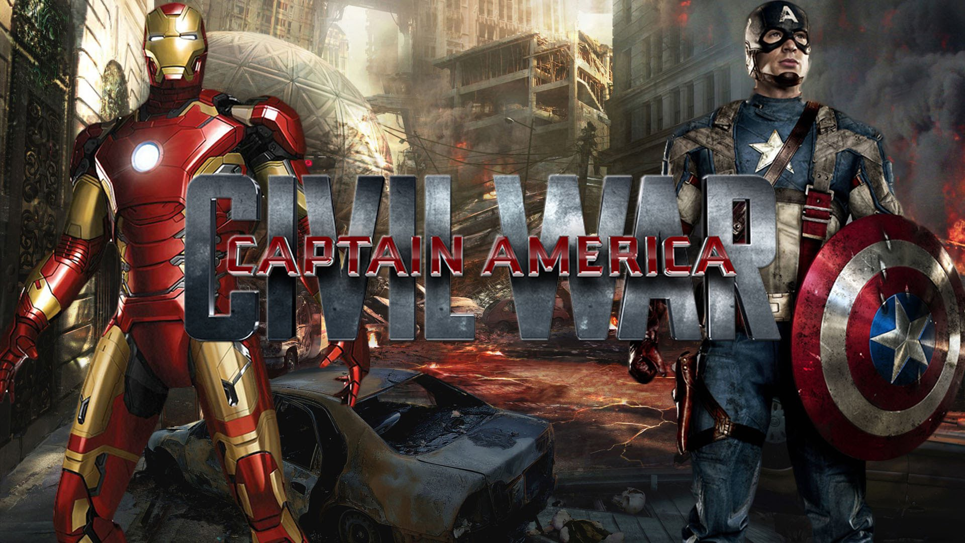 Captain America Civil War Full HD