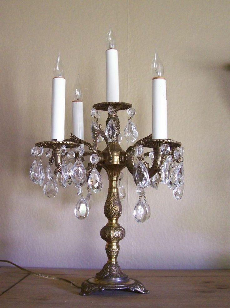 Chilo Brass Vintage Lamps