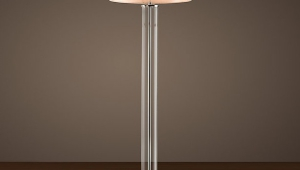Clear Glass Floor Lamps