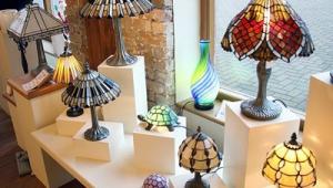 Contemporary Tiffany Table Lamps
