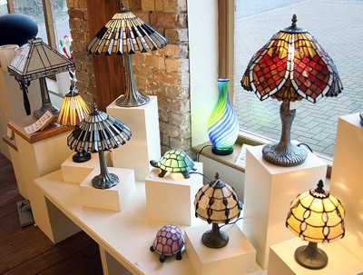 Contemporary Tiffany Table Lamps
