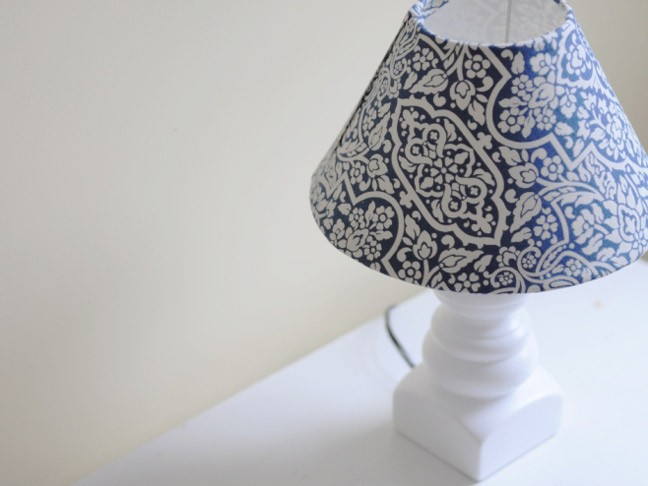 Covering Lampshades