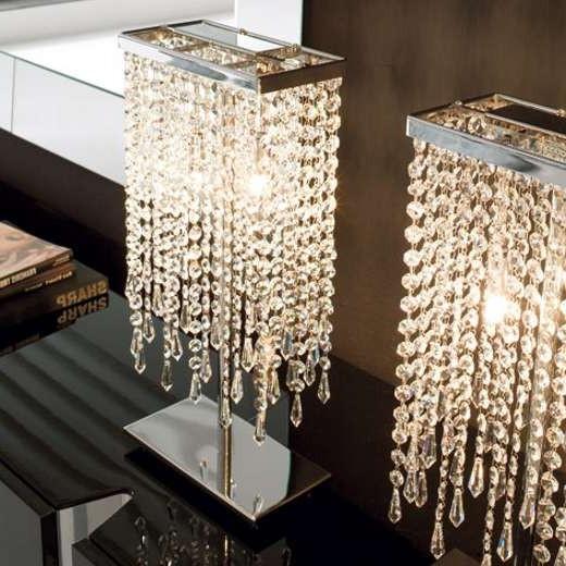 Crystal Glass Floor Lamps